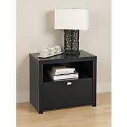 designer 1 drawer nightstand