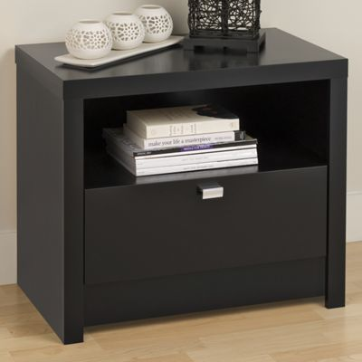 Designer 1-Drawer Nightstand