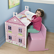 Personalized Dollhouse Desk Set