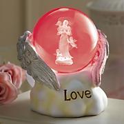 archangel glass globe