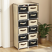 12 drawer storage tower