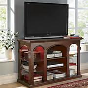 curio tv stand