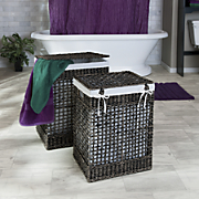 set of 2 seagrass hampers
