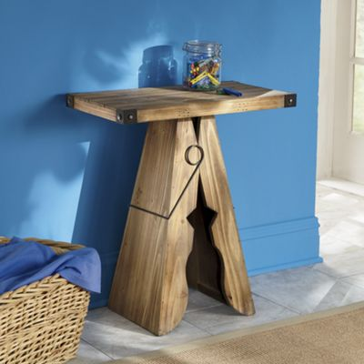Clothespin Table