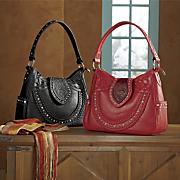 rhinestone handbag by montana west