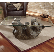 brown bear coffee table