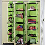 3 piece hanging closet organizer set