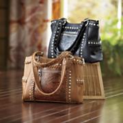 Studded Embossed Bag