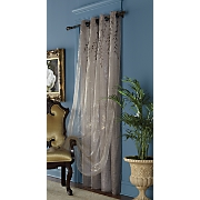 eloise embroidered double layer grommet panels