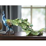 peacock figurine
