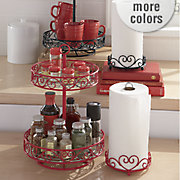 2 tier lazy susan