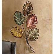 Dancing Leaves Metal Art