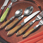20 piece cameo flatware set