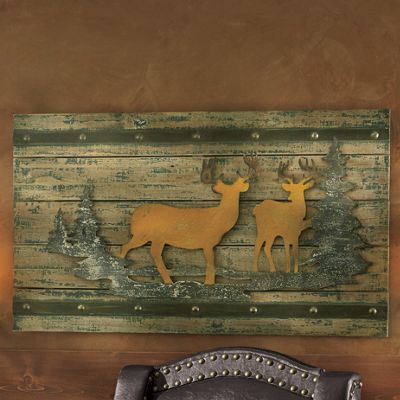 Lodge Wall Plaque