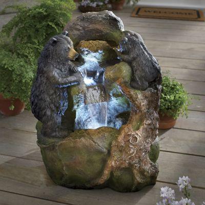 Bear Family Fountain