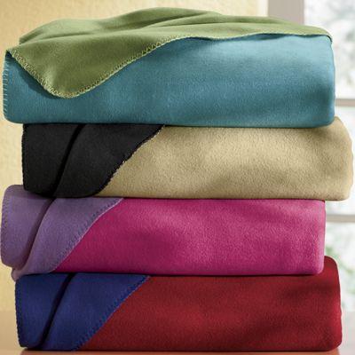 Reversible Fleece Blanket