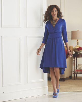 Morena Hi-Lo Dress