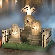 graveyard inflatable