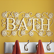 felicity bath wall decor