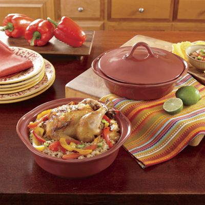 Rachael Ray's Set of 2 Round Cucina Bakers
