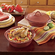 rachael ray s set of 2 round cucina bakers