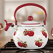 harvest apple tea kettle