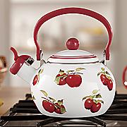 harvest apple tea kettle