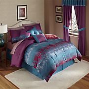 Flourish 7-Piece Bed Set and Window Treatments