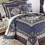 Charlize Tapestry Bedspread, Pillows and Window Treatments