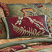 flora and fauna pillow