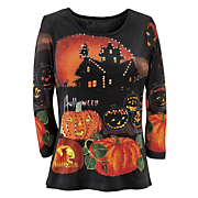 halloween knit top 9