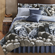 Snow Leopard Complete Bed Set