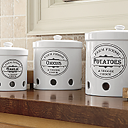 set of 3 vented storage canisters