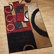 3-Piece Circles Rug Set