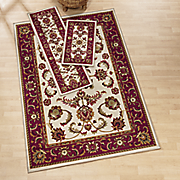 3 pc heritage rug set
