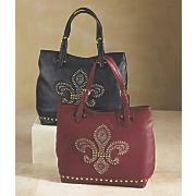 Fleur-De-Lis Bag