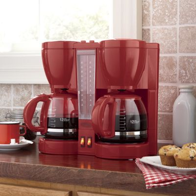 Ginny's Brand 12 Cup Coffee Maker & Replacement Carafe