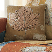 woven tapestry fall inspiration pillow