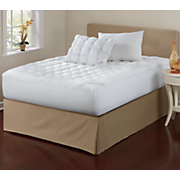 Sleep Connection ® Pillowtop Pillow Pair and Mattress Pad by Montgomery Ward ®