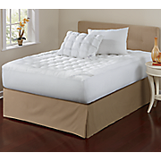 sleep connection pillowtop pillow pair and mattress pad by montgomery ward
