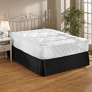 sleep connection diamond quilted topper by montgomery ward