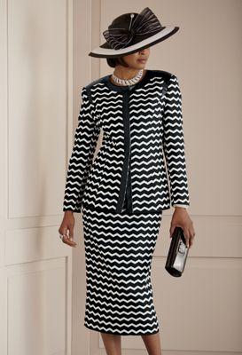Art Deco Skirt Suit