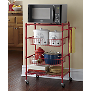 red wire utility cart