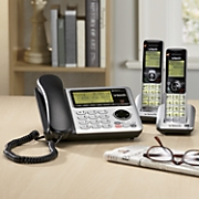 Corded/Cordless Phone with Answering System