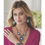 kinsey gemstone crystal necklace