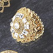 medallion ring 98