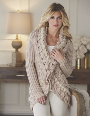 Scallop Cascade Sweater
