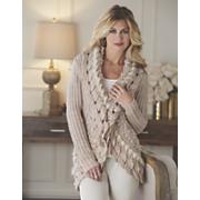 scallop cascade sweater