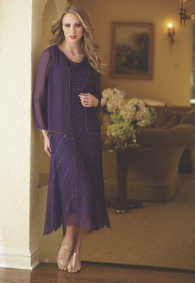 Colette Beaded 2-Piece Dress