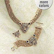 3 d leopard jewelry